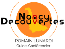 Nancy Découvertes - Romain Lunardi logo