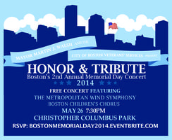 Honor & Tribute: Boston's 2nd Annual Memorial Day...