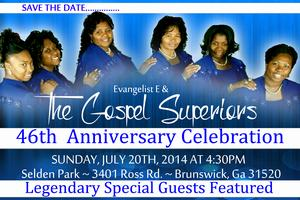 The Gospel Superiors 46th Anniversary w/The Mighty...