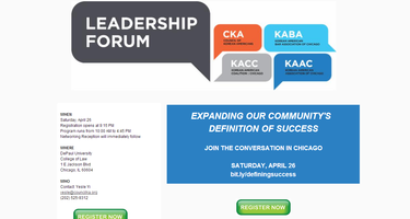 2014 National Leadership Forum: Expanding Our...