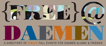 Fall Semester FREE @ Daemen Events