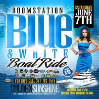 Boom Blue and White Boat Ride 2014