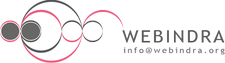 Webindra logo