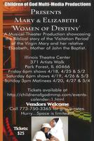 Mary & Elizabeth 'Women of Destiny' evening performances
