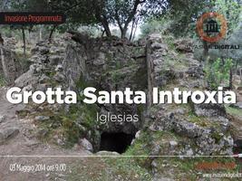 #invasionidigitali Grotta Santa Introxia con C.I.S.S.A...