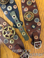 Steampunk Leather Arm Band Workshop