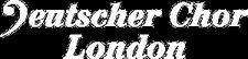Deutscher Chor London logo