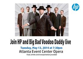 Join HP and Big Bad Voodoo Daddy Live at the Opera Hous...