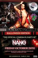 The Black Tape Project & D.j. Nano Come Back Party