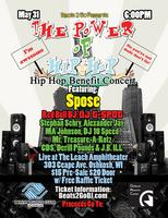 """The Power of Hip Hop"" Hip Hop Benefit Concert..."