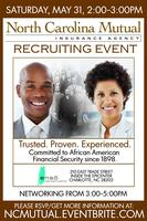 North Carolina Mutual Insurance Agency Recruiting Event