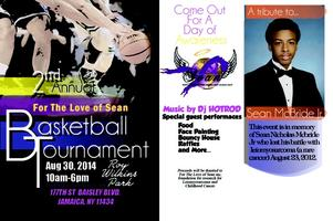 For The Love Of Sean Inc. annual basketball memorial...