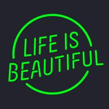 Life is Beautiful Music & Art Festival logo