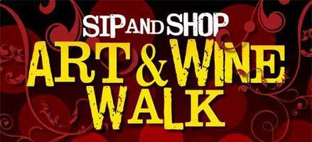 SIP & SHOP ~ ART & WINE WALK ON THE SQUARE | 2014