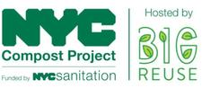 NYC Compost Project Hosted by Big Reuse logo