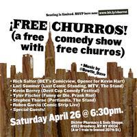 ¡Free Churros! 4/26