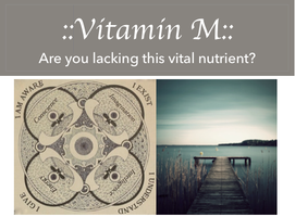 "Vitamin ""M"""