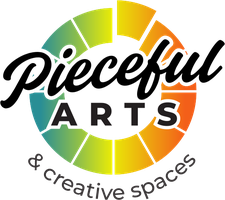 Pieceful Arts - Suzanne Coverett Earls  logo