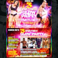 GWEN RO: 3-Hour Fitness Glow Party