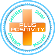 PLUS+ (PLUS Positive) logo