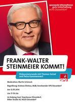 Steinmeier kommt nach Düsseldorf!