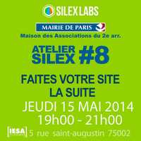 Master Class Silex Atelier #8 : Faites votre site, la...