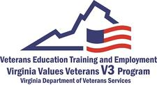Virginia Values Veterans (V3) Program logo
