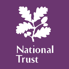Hanbury Hall and Gardens, National Trust logo