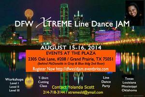 DFW XTREME Line Dance JAM 2014