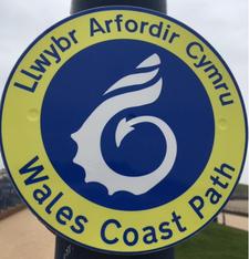 Wales Coast Path Walking Festival 2019 logo
