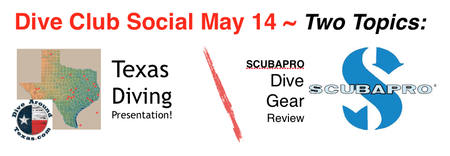Texas Diving & Latest SCUBAPRO Gear