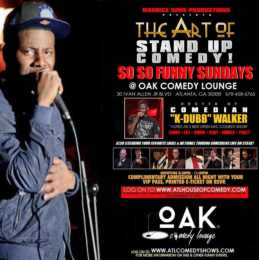 So So Funny Sundays @ Oak Comedy Lounge