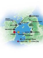 8 Day Celtic Sampler - Dublin, Belfast, Edinburgh,...