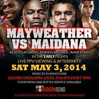 MAYWEATHER VS MAIDANA FIGHT PARTY & AFTERPARTY