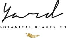Yard Skincare   botanical beauty co. logo