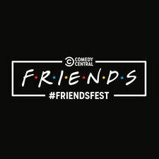 FRIENDSFEST Barcelona - Comedy Central logo