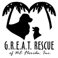G.R.E.A.T. Rescue of NE Florida logo