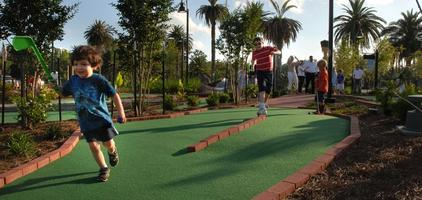 Family Night at City Putt