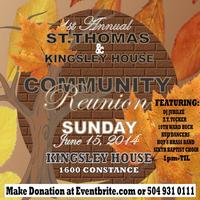 1st Annual ST.Thomas Community Reunion