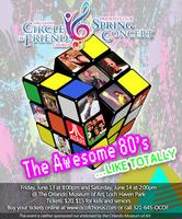 The Awesome 80s!  Like totally! Concet