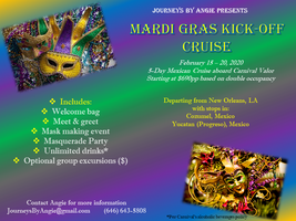 New Orleans Events May 2020.Mardi Gras Kick Off Cruise Registration Sat Feb 15 2020