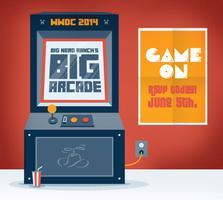 Big Nerd Ranch's Big Arcade - WWDC 2014