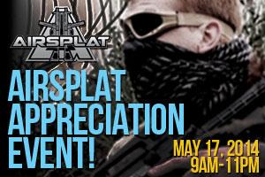 AirSplat Appreciation Event 2014
