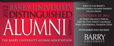 Barry University Distinguished Alumni Awards 2012