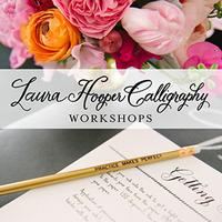 Laura Hooper Calligraphy ~ June 9 | Houston, TX | 6pm...