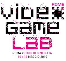 Rome Video Game Lab 2019 logo