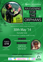 CARDIFF -AN EVENING FOR ORPHAN CHILDREN IN 7 COUNTRIES