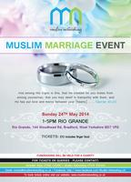 BRADFORD -MUSLIM MARRIAGE EVENT