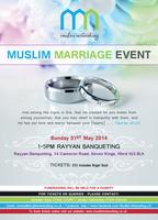 LONDON -MUSLIM MARRIAGE EVENT