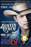 Dustin Lynch presented by One Block South and 106.5 The Wolf